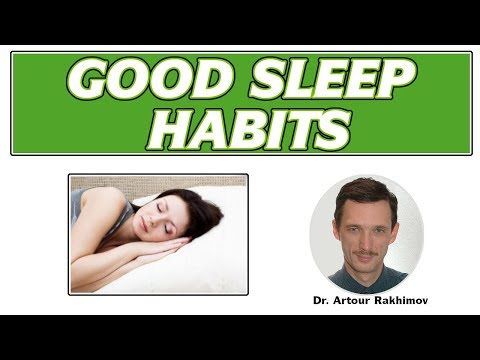 10-3. Good Sleep Habits (How to Sleep Better, Key Sleep Factors - Brain O2)