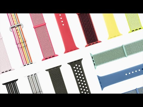 20+ New Apple Watch Bands Announced!