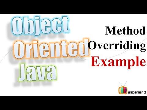49 Java Method Overriding Example |