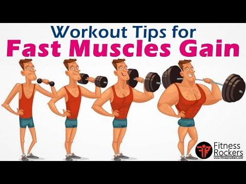 How to gain muscle fast | bodybuilding muscle gain workout tips  | Hindi | Fitness Rockers
