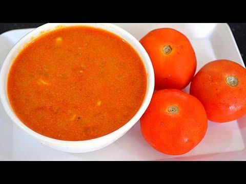 Tomato Kurma Recipe-Thakkali Kurma-Side dish for Chapati,Idiyappam,Dosa,Idli