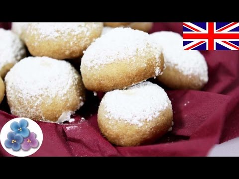 Almond butter cookies recipe - Russian Tea Cakes - Easy to Make Butter cookies Tutorial Mathie