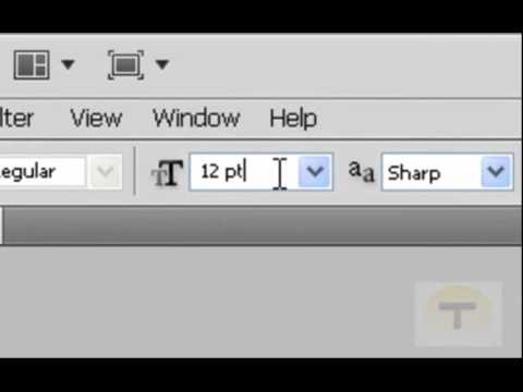 How to make a watermark with Photoshop CS5