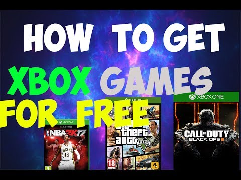 HOW TO GET GAMES FOR FREE ON THE XBOX ONE ( JUNE 2017!!)