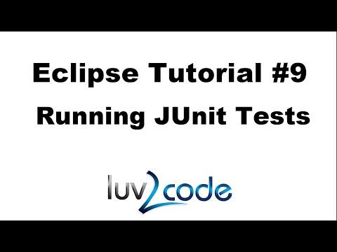 Java Eclipse Tutorial - Part 9: Running JUnit Tests