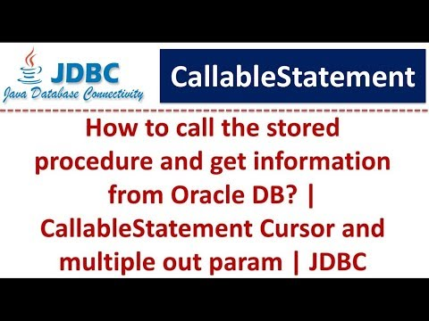 JDBC - CallableStatement Cursor and multiple out param(Oracle)