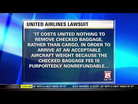 Passenger Sues United Airlines Over Delayed Luggage