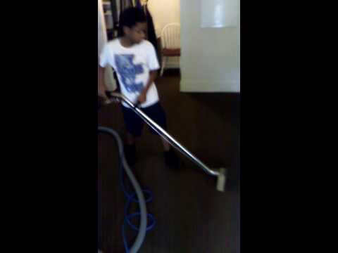 T's Janitorial Services carpet cleaning training
