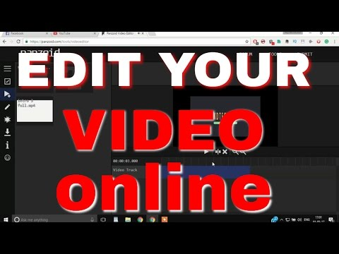 EDIT YOUR VIDEOS ONLINE | Very Esey Video Editing | No Watermark
