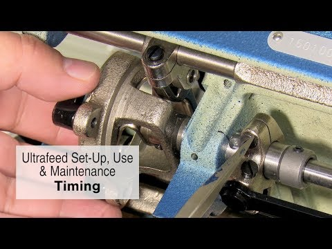 Timing of the Sailrite Ultrafeed Sewing Machine
