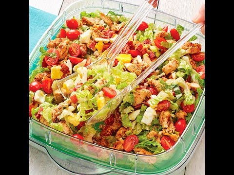California Cobb Salad in Andy's Pampered KItchen