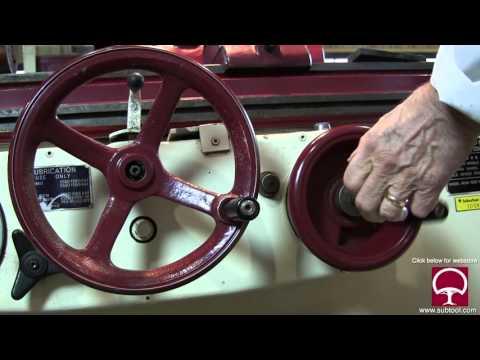 How To Make A Wheel Dresser For An O.D. Grinder Pt. 1