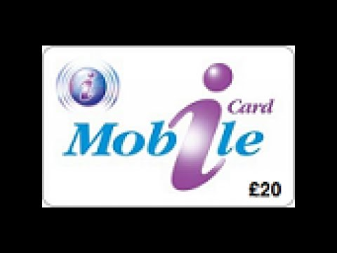 How to Top Up iCard Mobile £20 Voucher Online