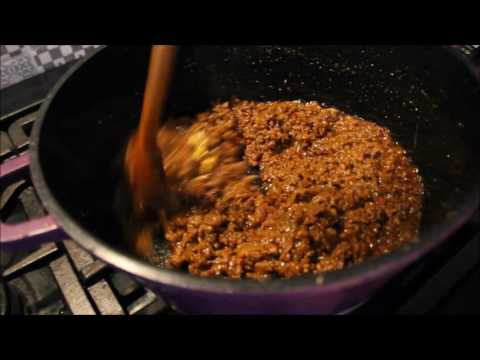 How to make mince curry.