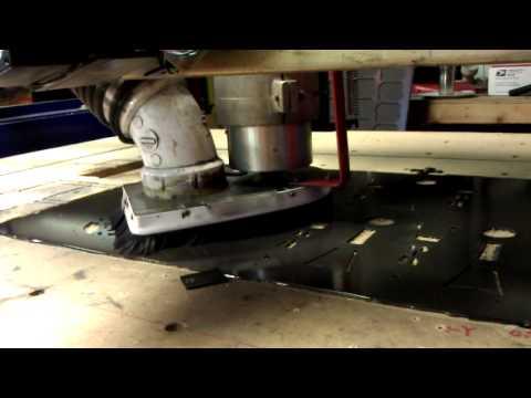 Cutting quad frame