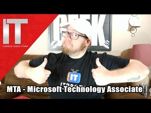 MTA Microsoft Technology Associate - I.T. Infrastructure - Developer - Database