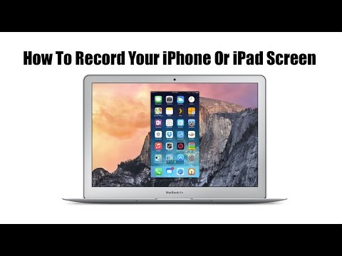 How To Record Your iPhone Or iPad Screen Using QuickTime Without A Jailbreak