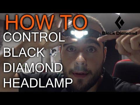 How to Use Black Diamond Icon Head Lamp