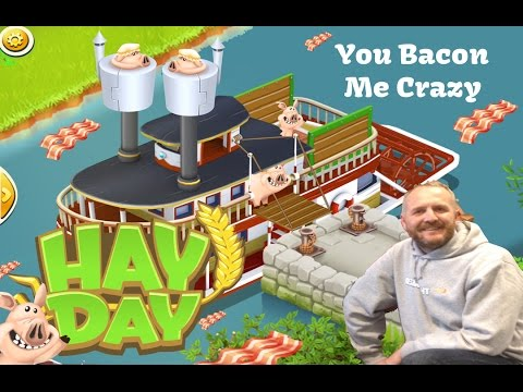 Hay Day - You Bacon Me Crazy with these Boats