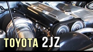 Toyota 2JZ sound compilation