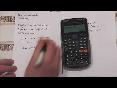 Essential GCSE Maths Revision: Guarantee a Grade 5: Video 3:  Combining Means GCSE
