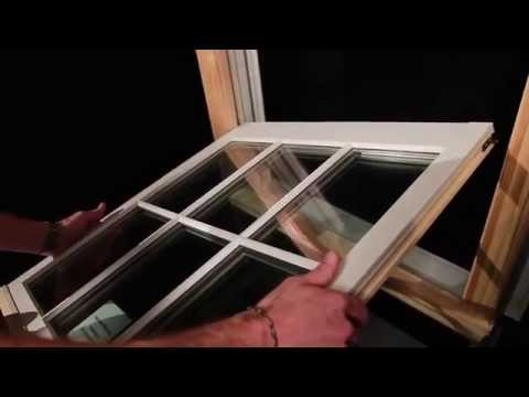 Marvin Windows Ultimate Double Hung - How to Tilt and Remove the Sash