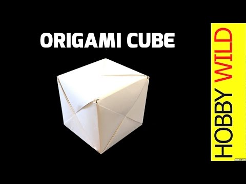 How To Make A Paper Cube (Origami)