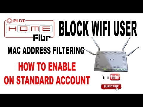 How to block other wifi user PLDT Fibr - Standard account