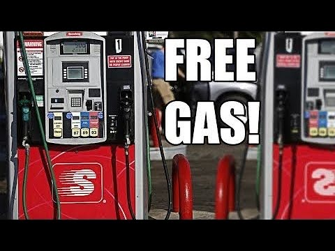 Get FREE GAS, at any gas station