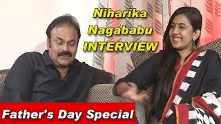 Niharika & Naga Babu Exclusive Interview   Father's Day Special   TV5 News