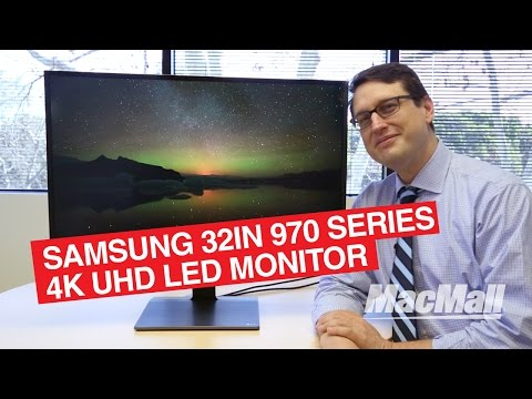"""Samsung 32"""" 970 Series 4K UHD LED Monitor Overview – MacMall"""