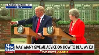 Trump to Jim Acosta in UK: