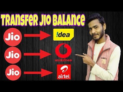 Transfer Jio Balance to Idea, Airtel, Vodafone