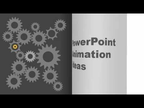 Animated Presentation Ideas - PowerPoint