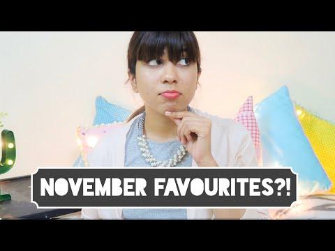 Not So Favourites November!