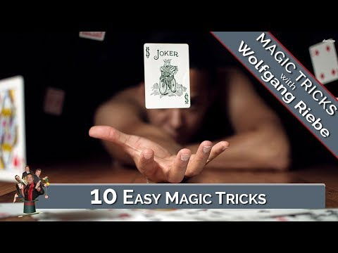 10 Easy Magic Tricks: Magic Tricks Revealed