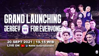 GRAND LAUNCHING JERSEY RANS CILEGON FC FOR EVERYONE