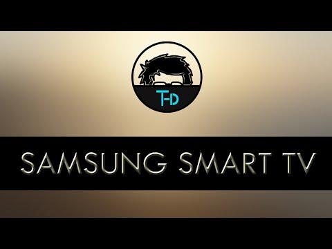 Samsung smart tv development tutorial - 01