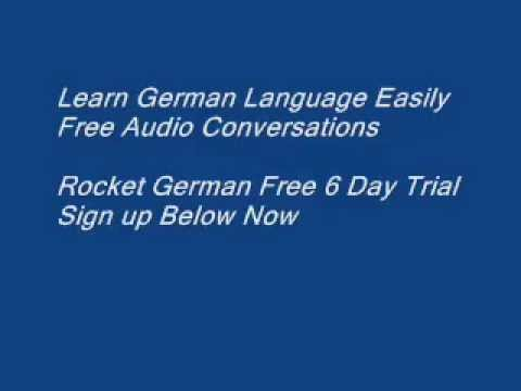 Learn German Language without books or pdf