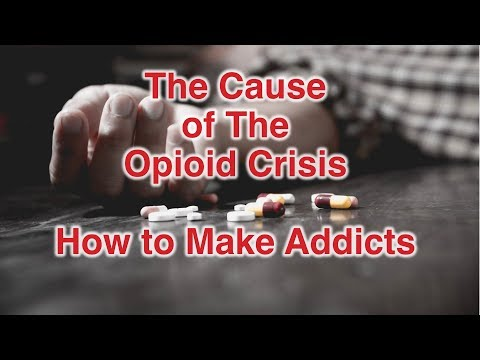 The Cause of the Opioid crisis