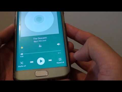 Samsung Galaxy S6 Edge: How to Set Music Player to Repeat Songs