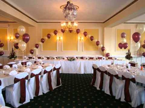 Wedding & Banquet Hall Decorations picture ideas for stage and settee back