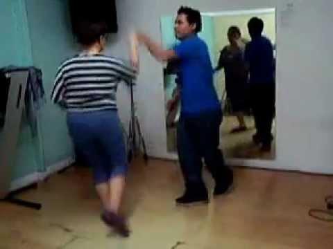 Cumbia sonidera dance