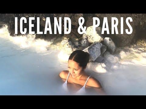 Iceland & Paris Vlog | Northern Lights, Blue Lagoon, Louvre, Eifell Tower
