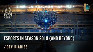 Esports in Season 2019 (and Beyond) | /dev diary - League of Legends