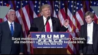 Trending Topic: Presiden Terpilih Donald Trump