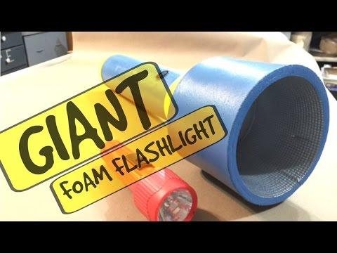 JWF-GIANT FOAM PROP FLASHLIGHT!