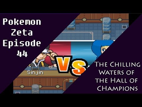 Pokemon Zeta Episode 44: The Chilling Waters of the Hall of Champions