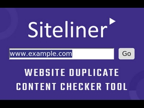 Siteliner | Website Duplicate Content Checker Tool | SEO tools - Part 48