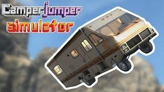 Flying Vans of Doom! - Camper Jumper Simulator Game